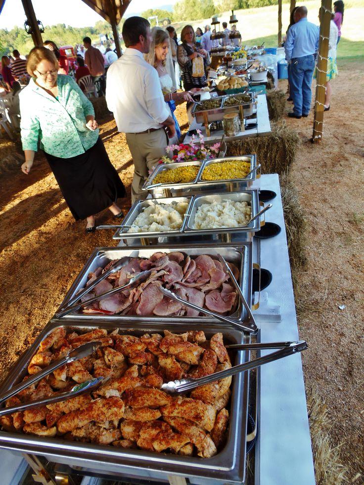 Western Christian Wedding Food Mangalayamae