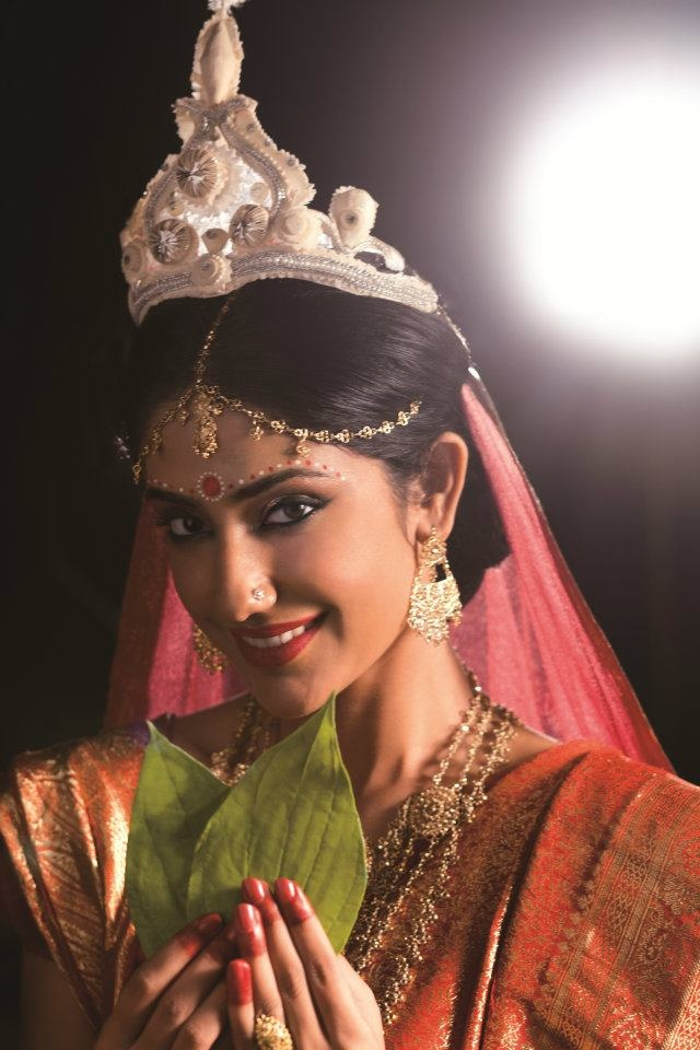Indian bridal looks: bengali bride